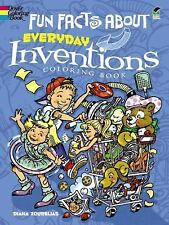 Fun Facts about Everyday Inventions Coloring Book (Paperback)