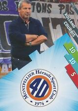 MHSC-01 LOGO ECUSSON - COURBIS # MONTPELLIER CARD ADRENALYN FOOT 2015 PANINI