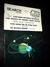 FLYING SAUCERS &  MYSTERIES OF THE SPACE AGE Search Magazine #131 ~ 1977  UFO