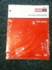 8-4743 - Is A New Parts Catalog For A CaseIH 8610 Bale Processor.