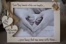 Personalised Photo Frame by Filly Folly! New Baby Gift! 7x5''