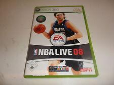 Xbox 360 NBA Live 08
