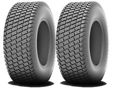 2 New 15x6.00-6 R/M Turf Tires Kubota Lawn Mower Garden Tractor FREE Shipping