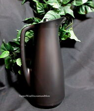 Tupperware New Serving Thermo Thermos Coffee Tea 1L Pitcher Black RARE