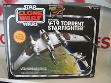 star wars vintage collection, V-19 TORRENT STARFIGHTER, NEW MINT IN BOX.