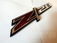 GM LICENSED, Z28 PREMIUM MIRROR STAINLESS STEEL & ACRYLIC EMBLEM BADGE