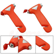 Handy Car Emergency Safety Gear Break Window Glass Hammer Belt Rope Cutter Tool