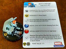 Kitty Pryde #055 SR Captain America Heroclix set with card super rare SHIELD