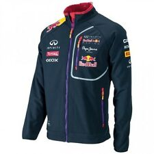 Infiniti Red Bull Racing Official Teamline Sponsors Softshell Jacket Navy Medium