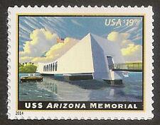 US 4873 Express Mail USS Arizona Memorial $19.95 single MNH 2014