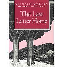 TheLast Letter Home by Moberg, Vilhelm ( Author ) ON Dec-01-1995, Paperback, Mob