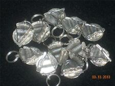 Wholesale Lot #318 Pewter Pie on Plate with Fork Charm Pendant Earring Key Chain