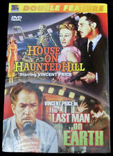 Double Feature DVD House On Haunted Hill The Last Man On Earth Vincent Price
