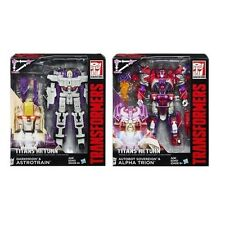 Transformers Titans Returns Voyager ALPHA TRION + DARKMOON & ASTROTRAIN UK