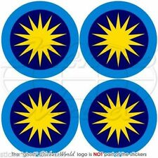 "MALAYSIA Royal Malaysian AirForce TUDM Roundel Vinyl Decals Stickers 2""(50mm) x4"