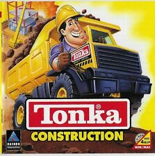 Tonka Construction Windows/Mac 1996 AGES 4+