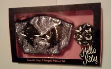 Hello kitty from debenhams cosmetic case & compact mirror set .new and sealed