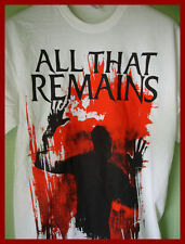 ALL THAT REMAINS - GRAPHIC T-SHIRT (S) (M) (L) (XL)   NEW & UNWORN