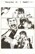 Uncanny X-Men #20 p.1 - Maria Hill - 2014 Signed art by Chris Bachalo