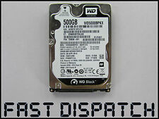 "WESTERN DIGITAL 500GB WD5000BPKX INTERNAL SATA 2.5"" LAPTOP HARD DRIVE HDD"
