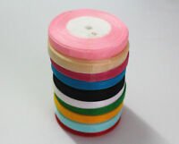 "wholesale 50yd Roll Of Sheer Organza Ribbon - width 10mm (3/8"") Various Colours"