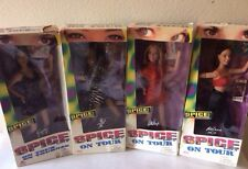 Spice Girls On Tour Action Dolls - Set of 4 ~ By Galoob