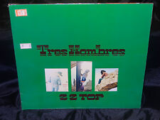 ZZ Top Tres Hombres SEALED USA 1979 GATEFOLD VINYL LP W/ NO BARCODE
