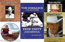 Tom Dorrance DVD Collection (4 DVDs) & True Unity Book - NEW