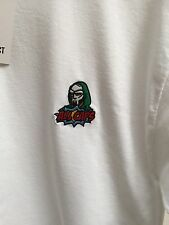 MF DOOM Embroidered Small T- Shirt