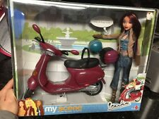 My Scene Chelsea Vespa  Gift Set Barbie Brand New