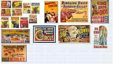 o scale circus decals for your buildings and store front windows
