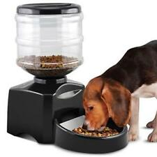 Automatic Pet Feeder Programmable Timer Foo d Dispenser Container for Dog Black