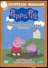 PEPPA PIG pozzanghere di fango - DVD NUOVO SIGILLATO, PRIMA STAMPA, NO EDICOLA