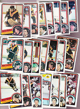 1984 OPC and Topps Team Lot of  22 Vancouver CANUCKS NM+ Tony TANTI