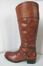 Tamaris Leder Reit Stiefel muskat cognac Gr. 40 leather boots light brown braun