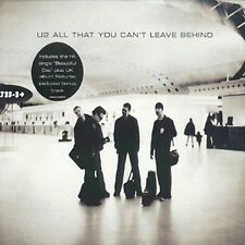 U2 ALL THAT YOU CAN'T LEAVE BEHIND ISRAELI MADE PROMO CD VERY RARE