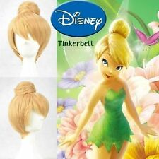 Disney Tinker bell Blonde Style Cosplay Wigs Cos Wig Free Shipping