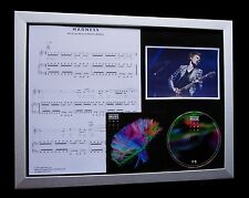 MUSE Madness LIMITED CD QUALITY MUSIC FRAMED DISPLAY+FAST GLOBAL SHIP+2nd LAW