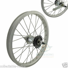 "16"" Wheel Coaster Foot Back Pedal Brake BMX Rear Bike Bicycle Alloy Inch 28H 064"
