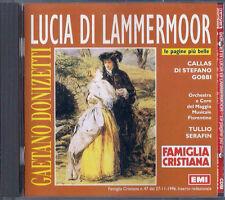 CD FAMIGLIA CRISTIANA - GAETANO DONIZZTTI / LUCIA DI LAMMERMOOR