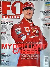 F1 racing magazine june 2001 features lots to read about etc free p&p to uk