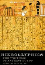 Hieroglyphics: The Writings of Ancient Egypt, Betro, Maria C., Acceptable Book