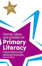 Games, Ideas & Activities for Primary Literacy by Hazel Glynne (NEW BOOK)