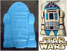 30cm R2D2 Robot Silicone Cake Pan Large StarWars Baking Tray Birthday Cake Mold