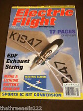 ELECTRIC FLIGHT INTERNATIONAL - ELECTRIC GLIDER REVIEW - NOV 1999