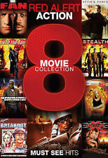 Red Alert Action: 8 Movie Collection (DVD, 2013, 2-Disc Set)