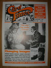 CARD TIMES MAGAZINE FORMERLY CIGARETTE CARD MONTHLY No 86 FEBRUARY 1997