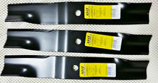 "Set of 3 heavy duty XHT Land Pride 60"" mower blades 890-171C high lift"