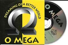 CD CARTONNE CARDSLEEVE O MEGA DREAMING OF A BETTER WORLD 2T DE 1998 TBE