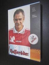 37398 Dieter Zembski Werbekarte original signierte Autogrammkarte